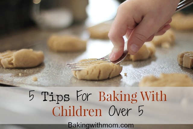 Tips for baking with children