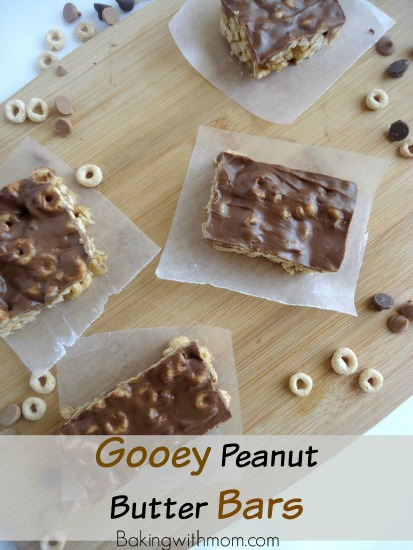 Gooey Peanut Butter Bars