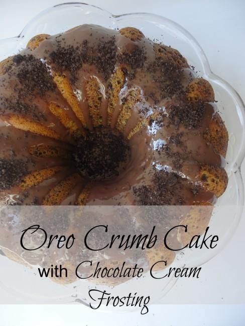 oreo crumb cake