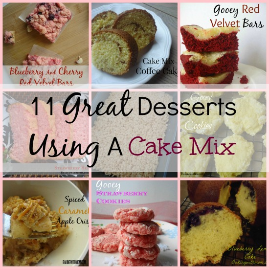 different desserts you can make with a cake mix