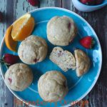Strawberry Orange Muffins breakfast or lunch. Orange and strawberry flavor