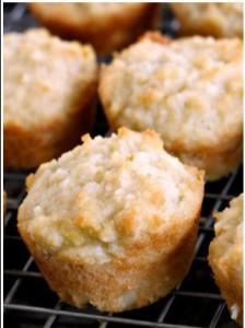 tropical mango muffin