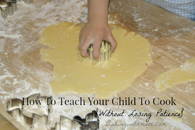 How to teach your child to cook
