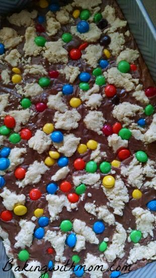 m&m shortbread cookies 2