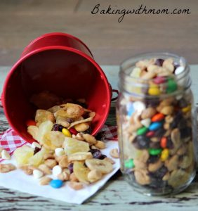 Homemade Trail Mix for a great quick after school snack.