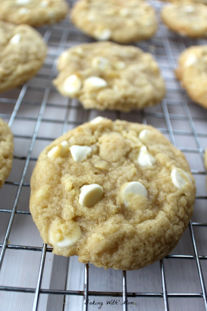 Soft and Chewy White Chocolate Chip Cookies Recipe