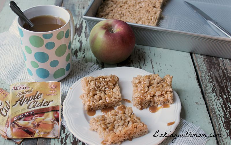 Crispy Apple Cider Treats