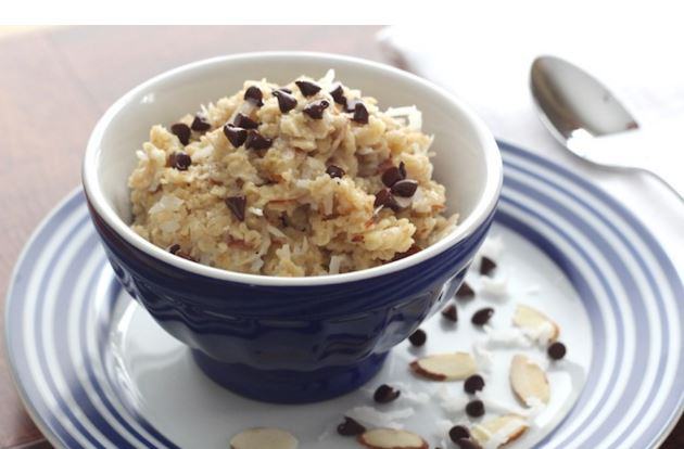 almond joy oatmeal