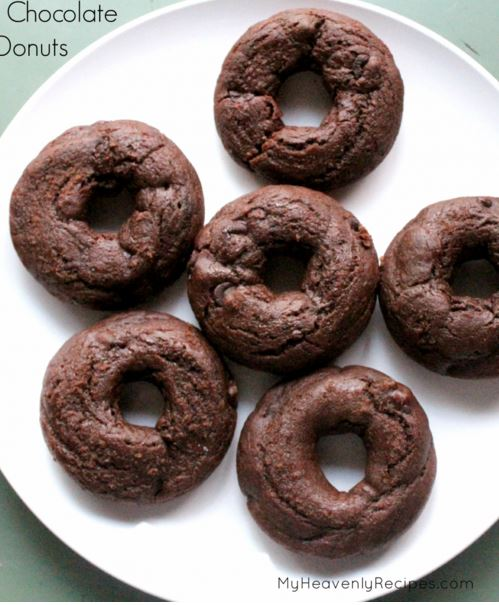 chocolate chocolate chip donuts