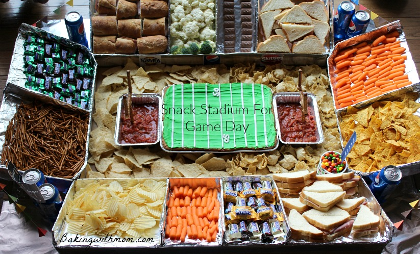 Game Day Snack Stadium #GameDayGlory #ad