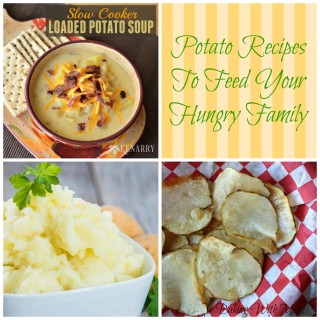 Potato Recipes To Feed Your Hungry Family-great side dishes a main meals to fill up your family at mealtime