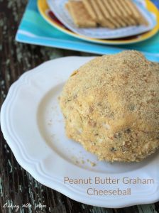 Peanut Butter Graham Cheeseball