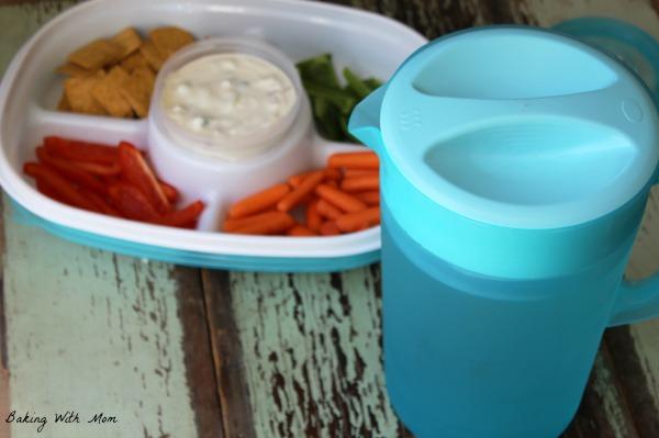 Greek Yogurt Dip with Bacon #ad #ColorYourSummer