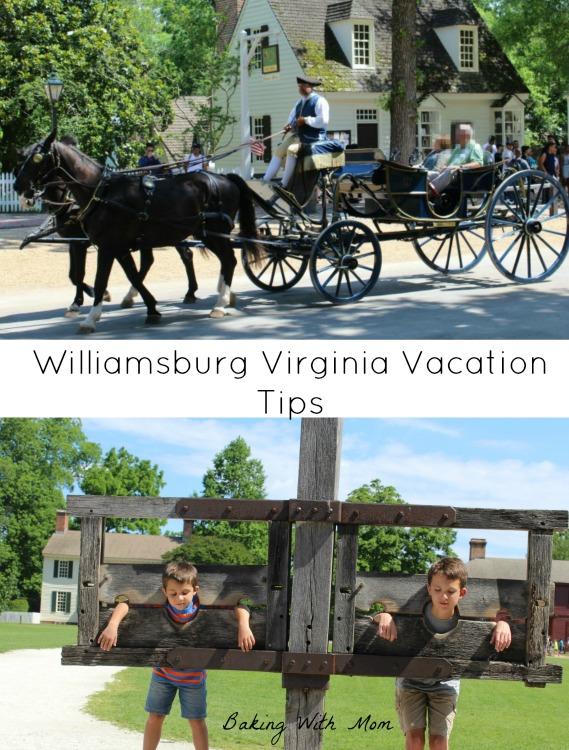 Williamsburg Virginia vacation tips great tips for your next family vacation to Williamsburg VA