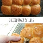 Cheeseburger Sliders Weekly Family Meal Plan
