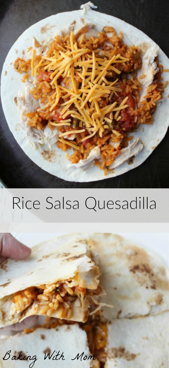 Rice Salsa Quesadilla #BensBeginners #UncleBensPromo #ad @unclebensrice lunch or supper easy for the family to make together