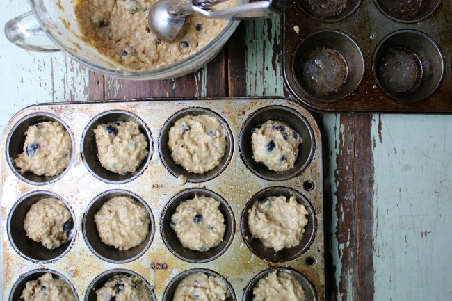 Blueberry Oatmeal Muffins #ad #Healthy4School