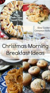 Christmas Morning Breakfast Ideas For Your Family Delicious breakfast rolls, breakfast casseroles and breakfast muffins for your Christmas morning
