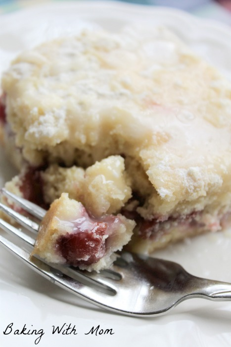 Cherry Filled Coffee Cake
