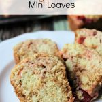 Cherry Bread Mini Loaves for lunch or snack. Made with canned cherries, this bread is delicious and sweet