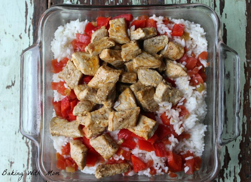 Mexican Pork Chop Casserole #ad #AllNaturalPork