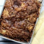 Cinnamon Apple Streusel Bread