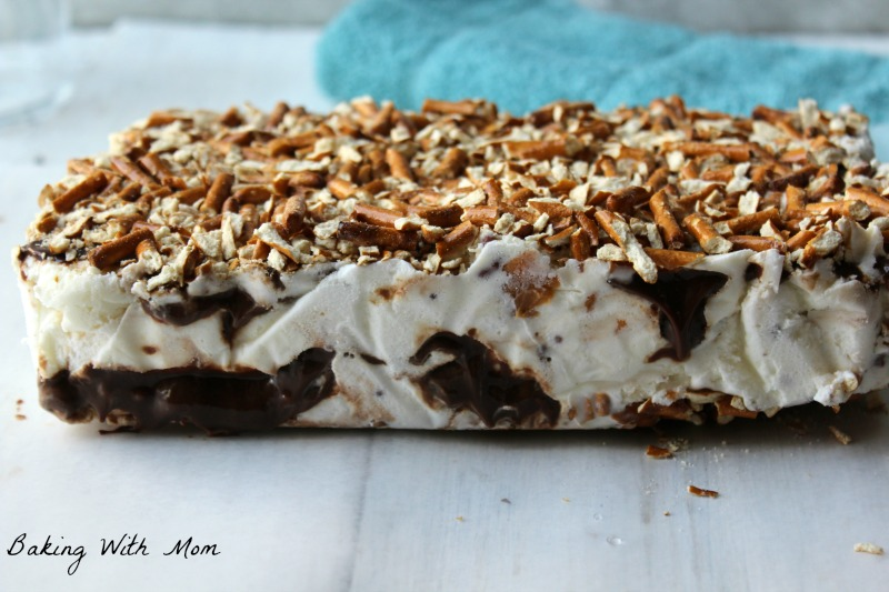 Peanut Butter Ice Cream Cake #ad #SoHoppinGood #BlueBunny