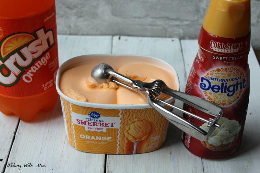 3 Ingredient Orange Vanilla Frosty