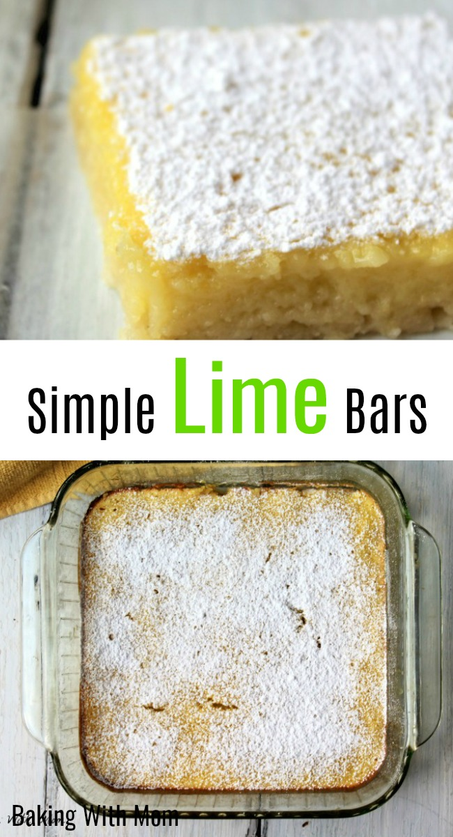 Simple Lime Bars a refreshing dessert recipe with flavor that just pops in your mouth
