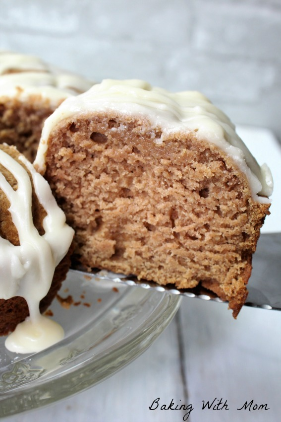 One Bowl Applesauce Cake