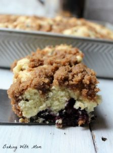 Brown Sugar Blueberry Coffee Cake