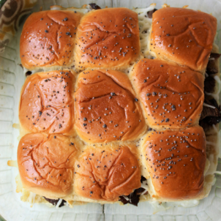 Sweet Beef Onion Sliders