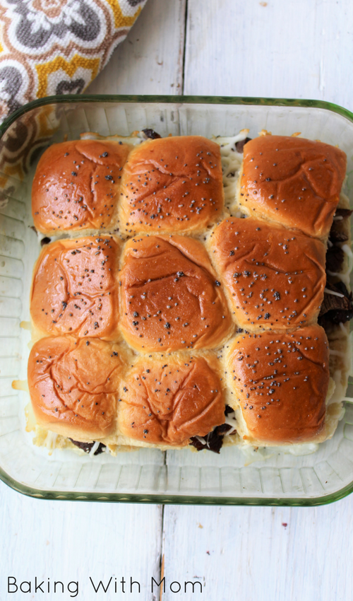 Sweet Beef Onion Sliders
