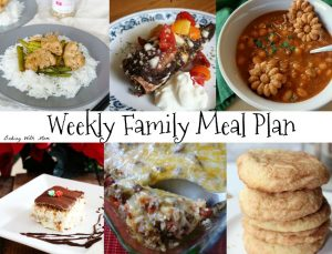 Weekly Family Meal Plan #7