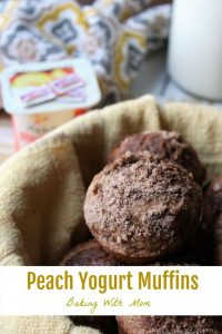 Peach Yogurt Muffins #ad #EarnWithBoxTops delicious peach yogurt in a soft and moist muffin. Great for breakfast or for snack