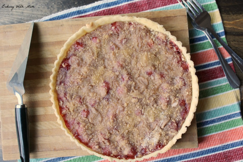 Cherry Tart With Streusel Topping a dessert recipe easy to make