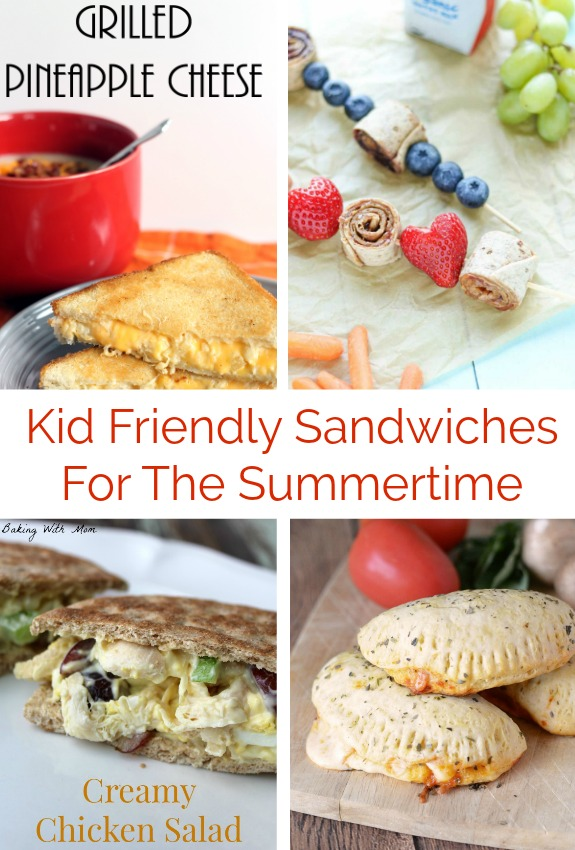 Kid Friendly Sandwiches Easy lunchtime ideas to feed your kiddos
