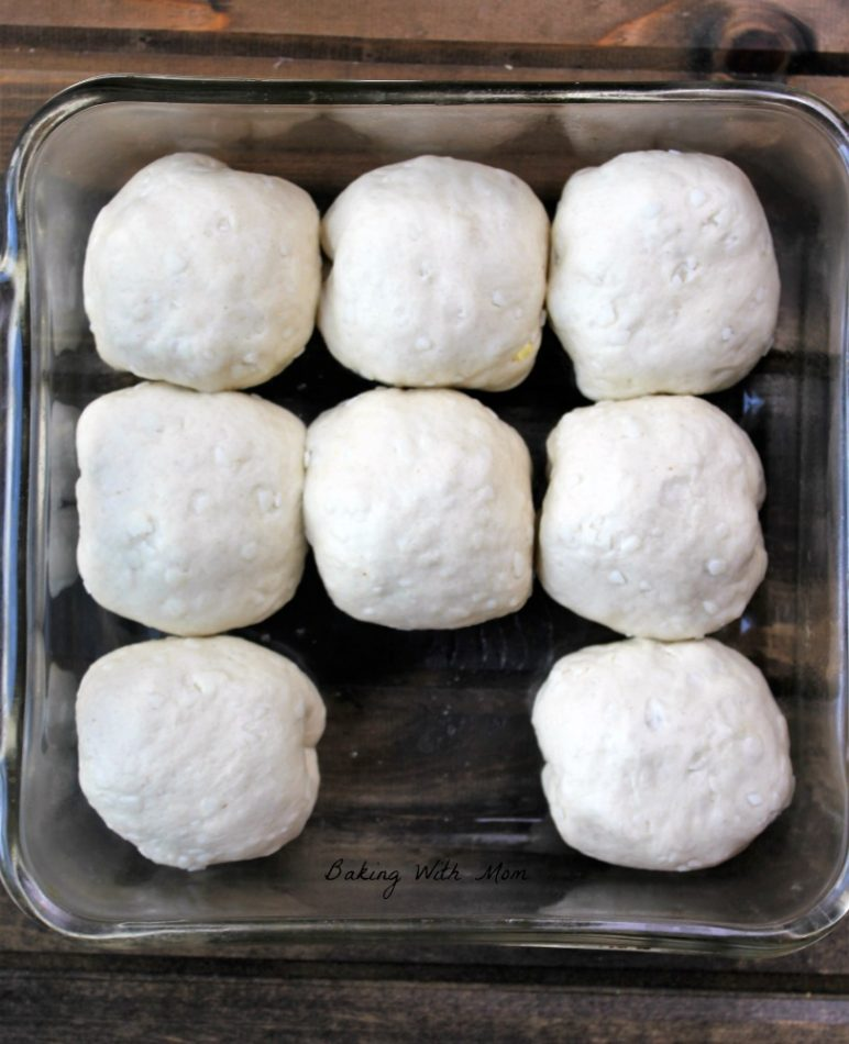 Breakfast Stuffed Biscuits Precooked