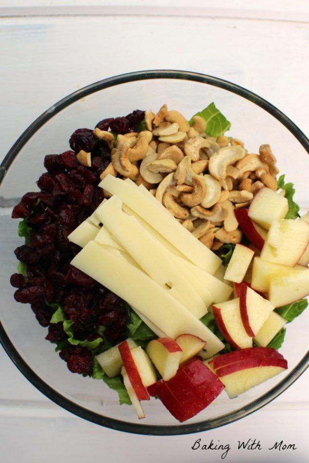 Apple Cranberry Lettuce Salad