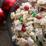 Classic Vanilla Crunch Mix in a clear bowl