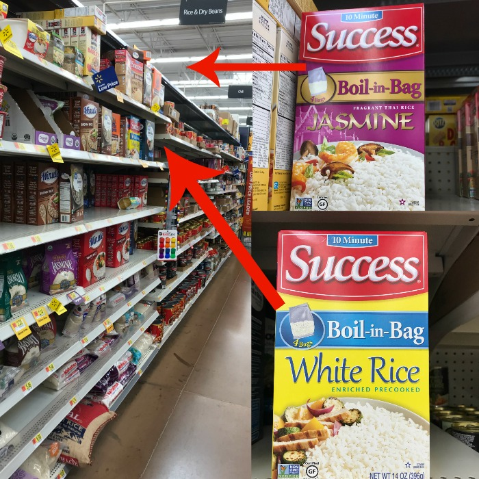 Rice in store