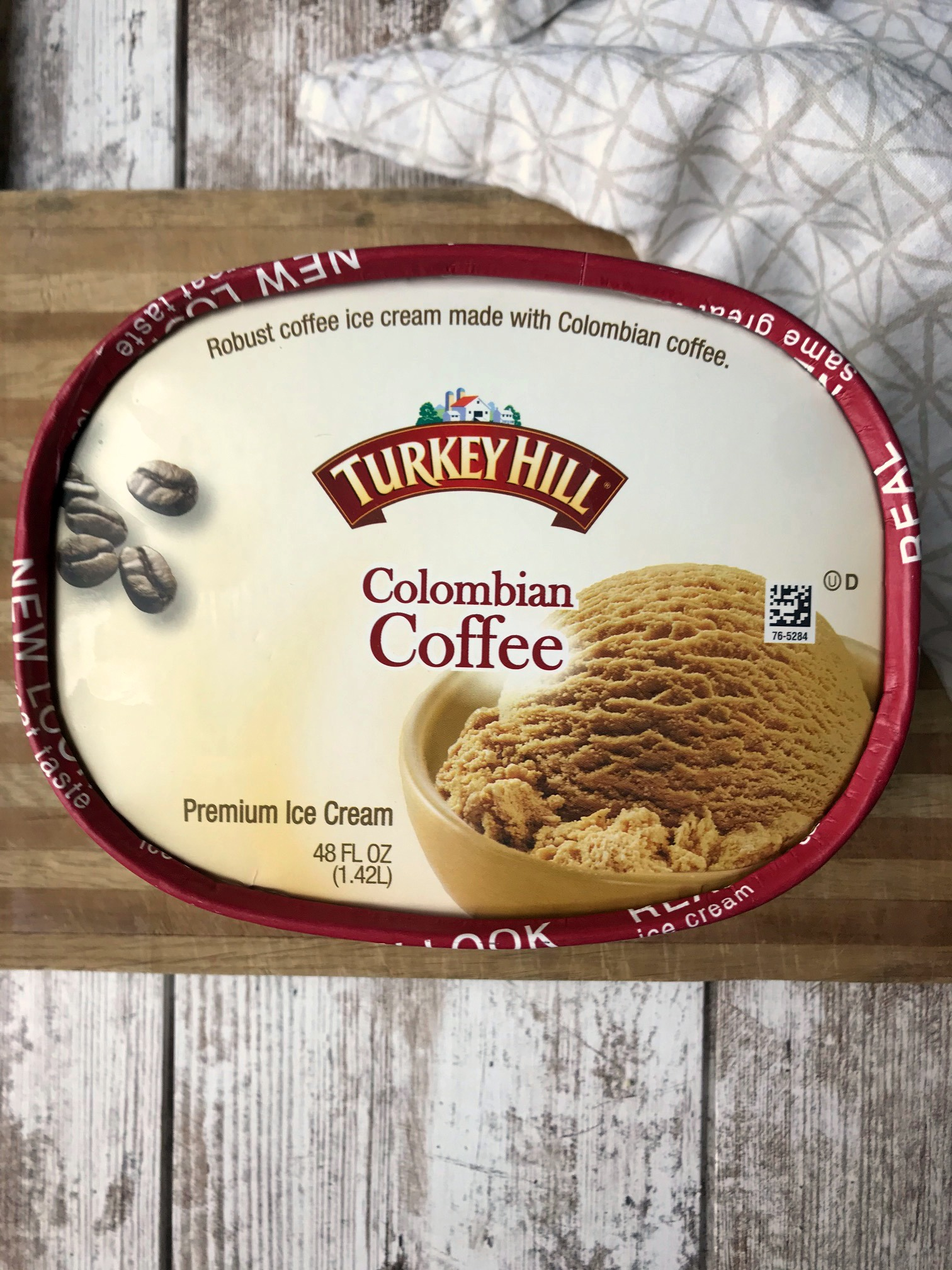 1.5 quart of Turkey Hill Coffee Ice Cream